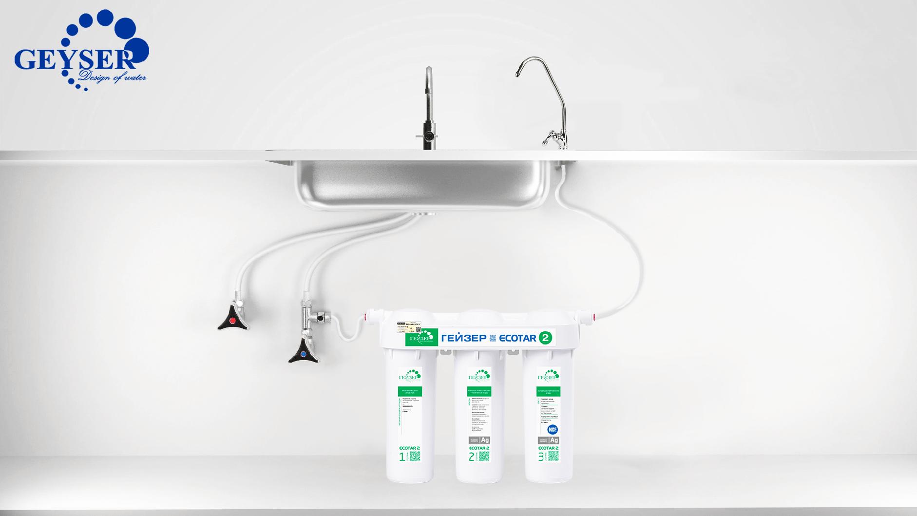 Geyser Ecotar 2 dễ dàng lắp đặt