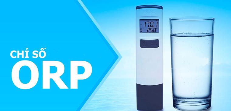 Hydrogen và ORP là 2 chỉ số để kiểm tra chất lượng nước