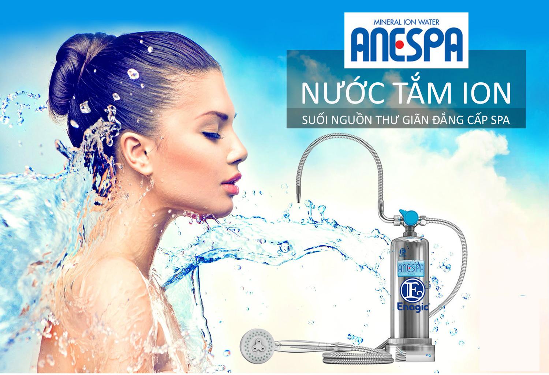 Anespa DX loại bỏ hoàn toàn Clo có trong nước tắm