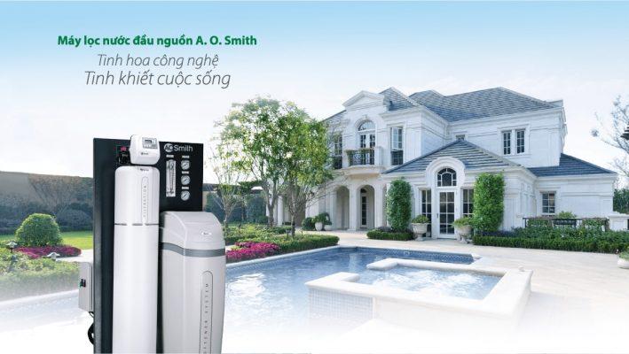 Hệ thống lọc nước đầu nguồn A O Smith LS03U