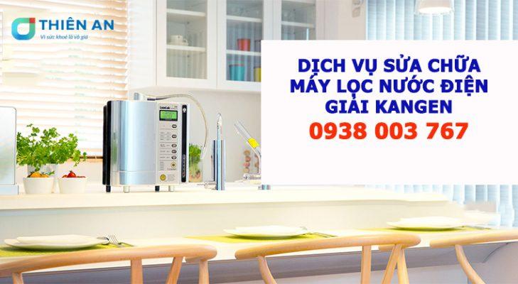 dịch vụ sữa chữa máy lọc nước Kangen