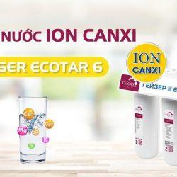 máy lọc nước ion canxi Ecotar 6
