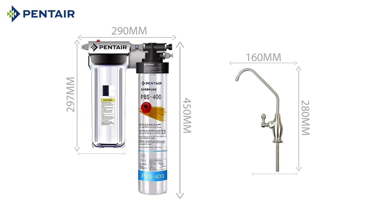 Máy lọc nước Pentair Everpure PBS-400 Standard - 2