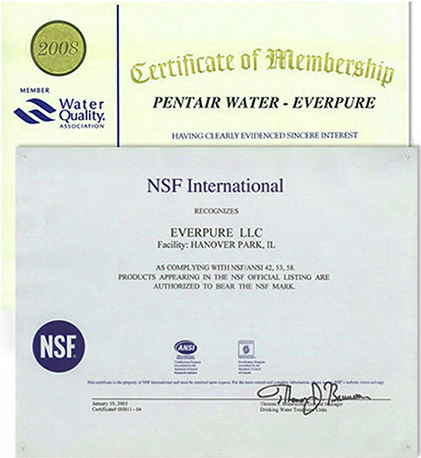 Máy lọc nước Pentair Everpure PBS-400 Standard - 4
