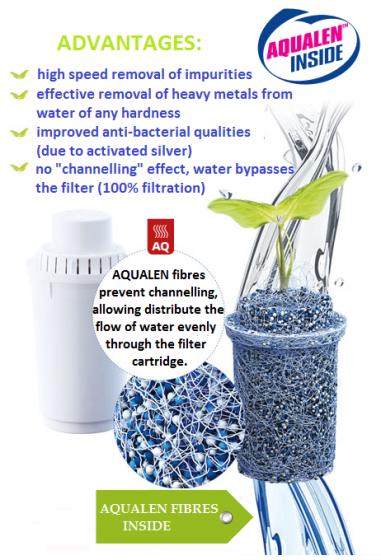 Bình lọc nước Aquaphor Premium đồng hồ điện tử - 2
