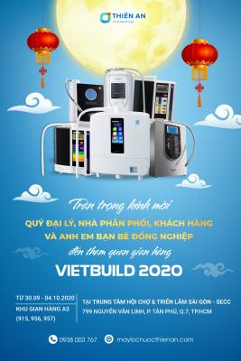 Thư mời tham gia triển lãm Vietbuild