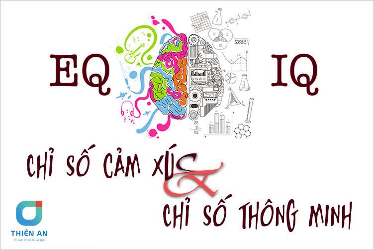 So sánh giữa chỉ số EQ và IQ