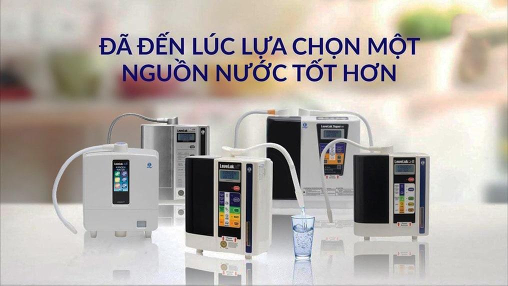 Máy lọc nước Kangen - Thương hiệu hàng đầu trong ngành máy lọc nước điện giải
